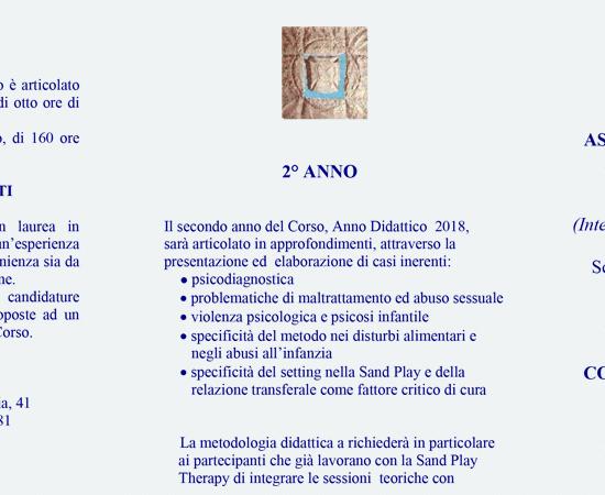 AISPT - DEPLIANT CORSO DI PERFEZIONAMENTO 2 Aispt 2017